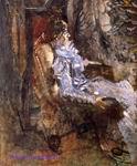 Врубель М.А. Дама в лиловом. Портрет Н.И. Забелы-Врубель. 1904-1905. Холст, масло. 160х130. ГРМ
