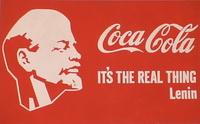 Ленин — Кока-кола (А. Косолапов, 1993 г.)