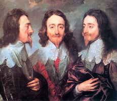 Портрет Карла I в трех ракурсах (Ян ван Дейк)