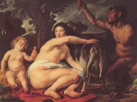 Детство Зевса (Якоб Йорданс)