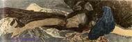 Врубель М.А. Летящий Демон. 1899. Х., масло. 138,5х430,5. ГРМ