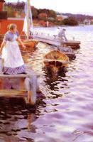 Цорн Андерс-Леонгард. Волны Лапландии 1887г