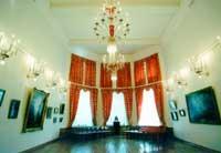 Купольный зал национальной галереи республики Коми