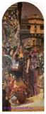 Врубель М.А. Венеция. Декоративное панно. 1893. Холст, масло. 319х134. ГРМ