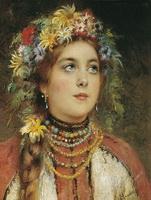 Русская красавица (К. Маковский)