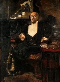 Портрет Саввы Мамонтова (1897 г.)