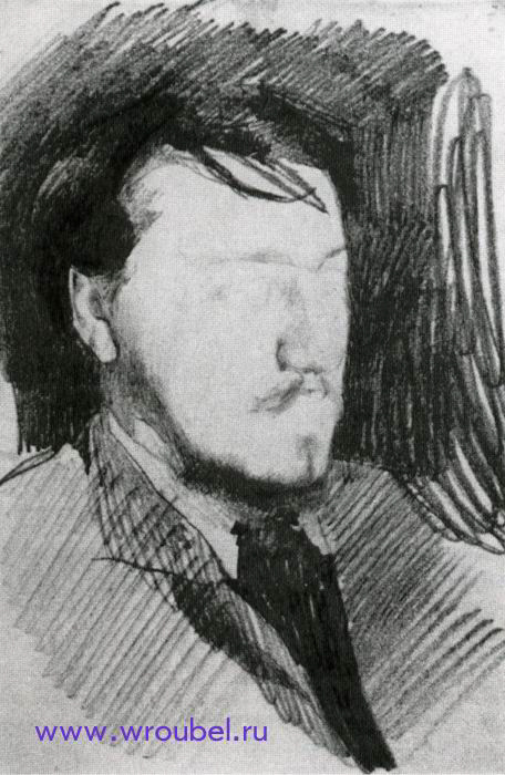 1883 Врубель М.А. Художник Валентин Александрович Серов.