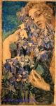 Врубель М.А. Гретхен среди цветов. 1897. ГРМ