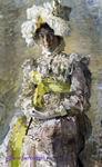 Врубель М.А. Портрет Н.И. Забелы-Врубель. 1898. Холст, масло. 124х75,5. ГТГ