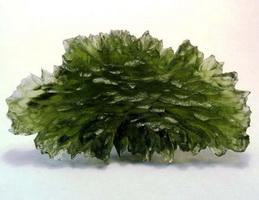 Молдавит (метеоритное стекло)