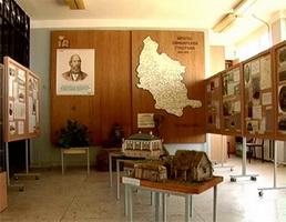Интерьер кафедры музееведения