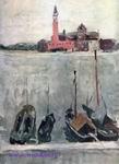 Врубель М.А. Венеция. 1892. Б., акв. 31,8х22,5. Собрание В.Д. Головчинер, Ленинград