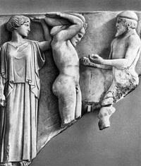 Атлас, приносящий Гераклу яблоки Гесперид