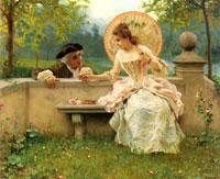 Нежность в саду (Федерико Андриотти)