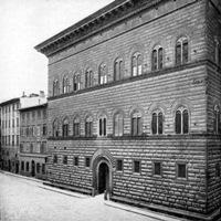 Фасад Палаццо Строцци