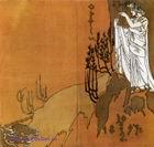 Врубель М.А. Обложка к программе Орфей. 1897. Цветная литография. 29,4х31,5. ГРМ