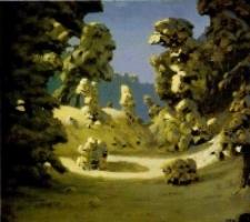 Пейзаж А. И. Куинджи