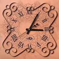 Часы настенные (ковка)