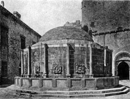 Большой фонтан в Дубровнике
