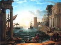 Отплытие царицы Савской (Клод Лоррен)