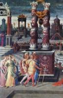 Резни Триумвиров, Les Massacres du Triumvirat, Антуана Карона, левая часть