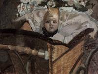 Портрет сына (Бумага, акварель, белила, карандаш. 1902 г.)