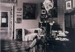 М.А. Врубель в кабинете коллекционера Я.Е. Жуковского. После 1899. ОР ГРМ, ф. 34, tl. хр. 74, л. 1