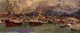 Врубель М.А. Катанья. Сицилия. 1894. Дерево, масло. 9,2х21,6. ГТГ