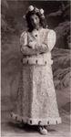 Н.И. Забела-Врубель в роли Снегурочки, в костюме по рисунку М.А. Врубеля. Конец 1890-х. ОР ГРМ, ф. 34, ед. хр. 78, л. 4