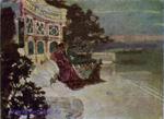 Врубель М.А. Сумерки. Римский мотив. 1891-1892. Д., м. 23,9х33. ГТГ