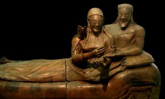 Саркофаг супругов-этрусков