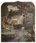 Врубель М.А. Полет Фауста и Мефистофеля. 1896. Панно для готического кабинета в доме А.В. Морозова в Москве. Холст, масло.
