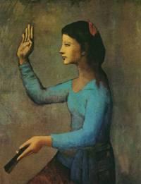 Картина Пабло Пикассо в розовый период 1905-1906 года