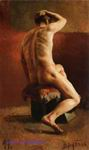 Врубель М.А. Натурщик. 1882-1883. Холст, масло. 92,5х55,5. ГРМ