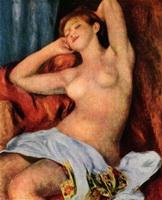 Рефлексы на картине П.О. Ренуара