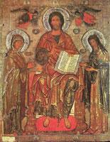 Деисус (Икона из Русского музея)