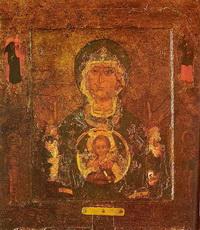 Икона Богоматерь Знамение Новгородская