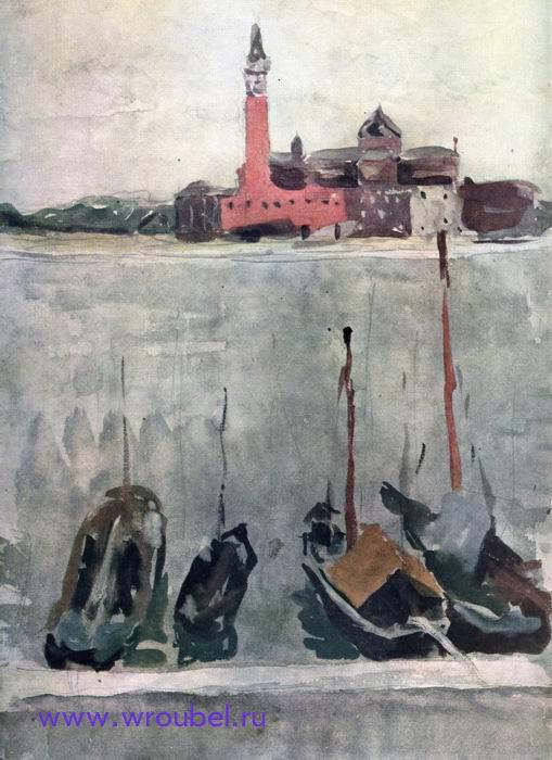 """1892 Врубель М.А. """"Венеция."""""""