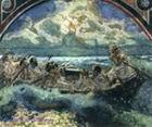 Врубель М.А. Хождение по водам. 1890. Бумага, акварель. 59х66. ГТГ