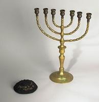 Еврейский канделябр Менора