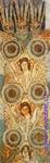 Врубель М.А. Орнаменты для Владимирского собора в Киеве. Эскиз. 1887-1889. Бумага, акварель, карандаш. 14х32,7. Киевский музей русского искусства.