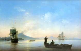 Неаполитанский залив (И.К. Айвазовский)