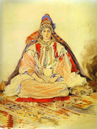 Еврейская невеста Тангиера (Э. Делакруа)
