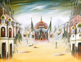 Князь Игорь (декорация к опере)