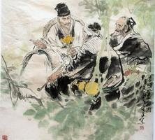 Картина в стиле гохуа (Ли Шичжень)