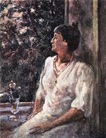 Портрет А.А. Ахматовой