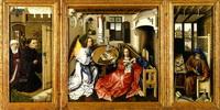 Благовещение Мероде (Флемальский мастер, около 1427 г.)