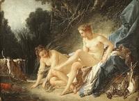 Купание Дианы (Ф. Буше, 1742 г.)