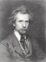 Портрет художника П.П. Чистякова (1860 г.)