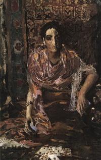 Гадалка (Холст, масло. 1895 г.)
